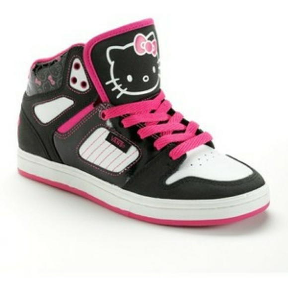Vans Hello Kitty High Top Skate Shoes